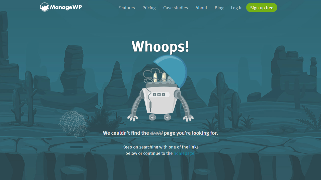 managewp.com 404 page