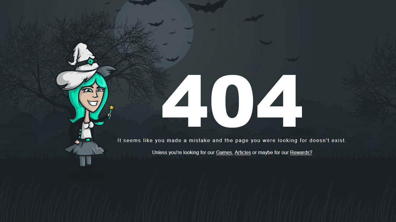 gamehag.com 404 page