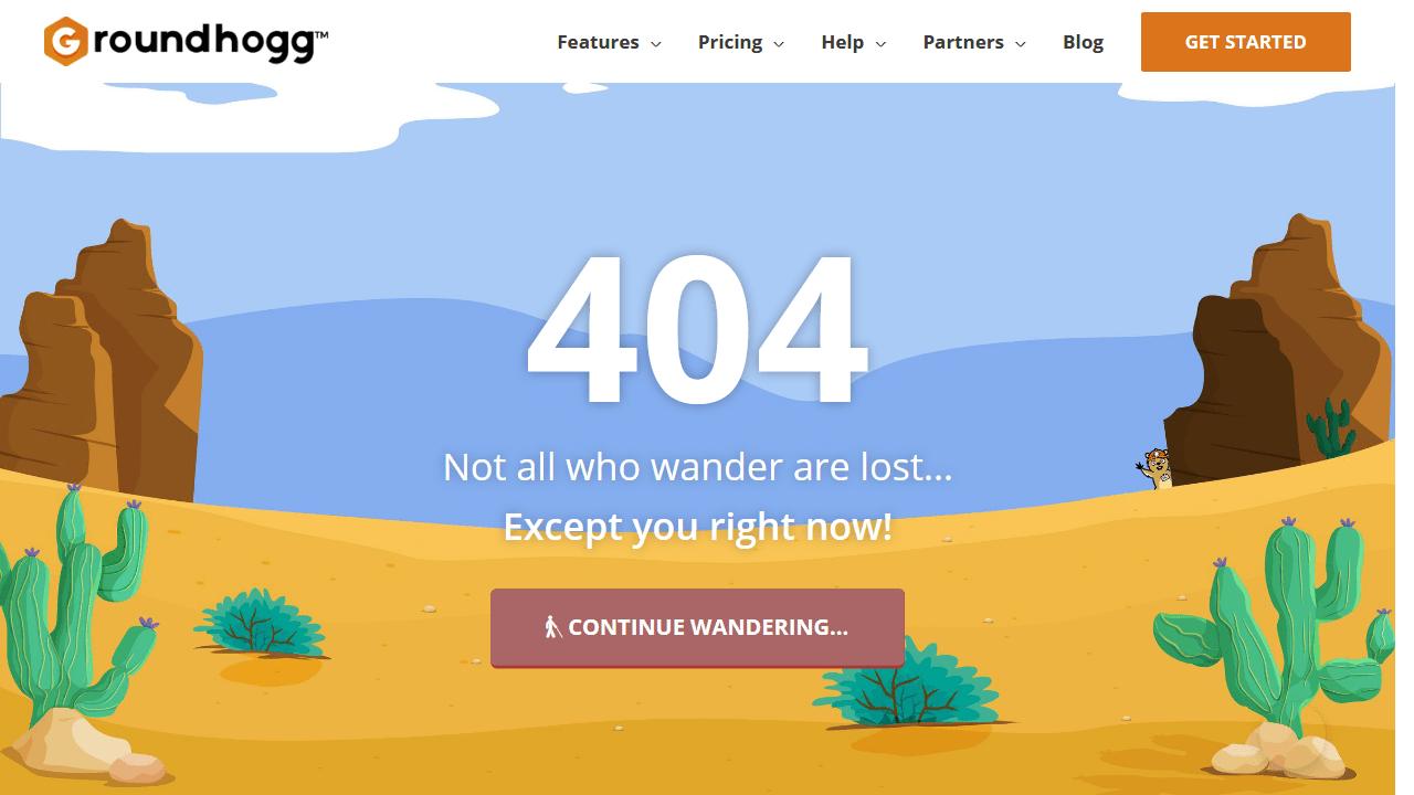 groundhogg.io 404 page