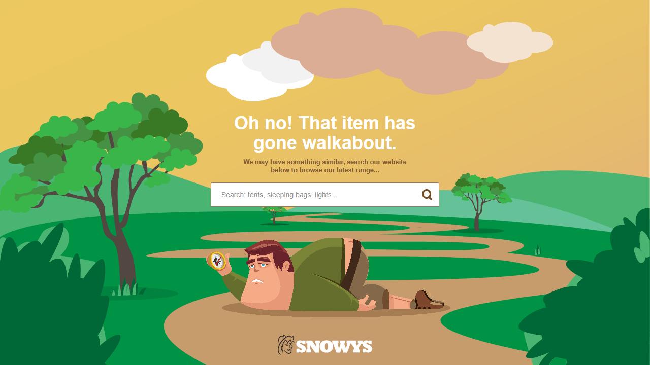snowys.com.au 404 page