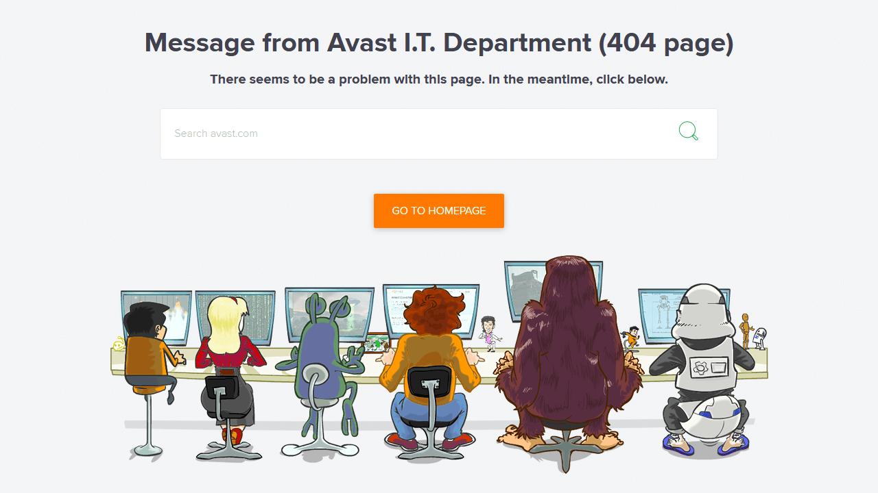 avast.com 404 page