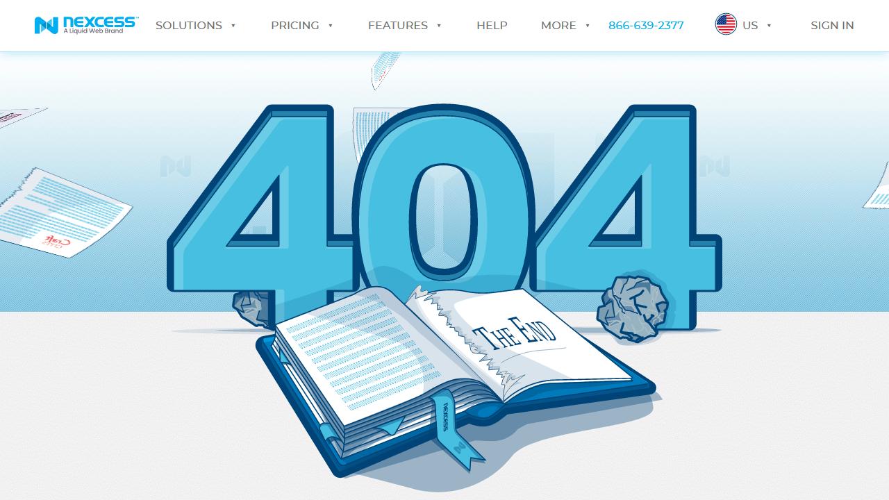 nexcess.net 404 page