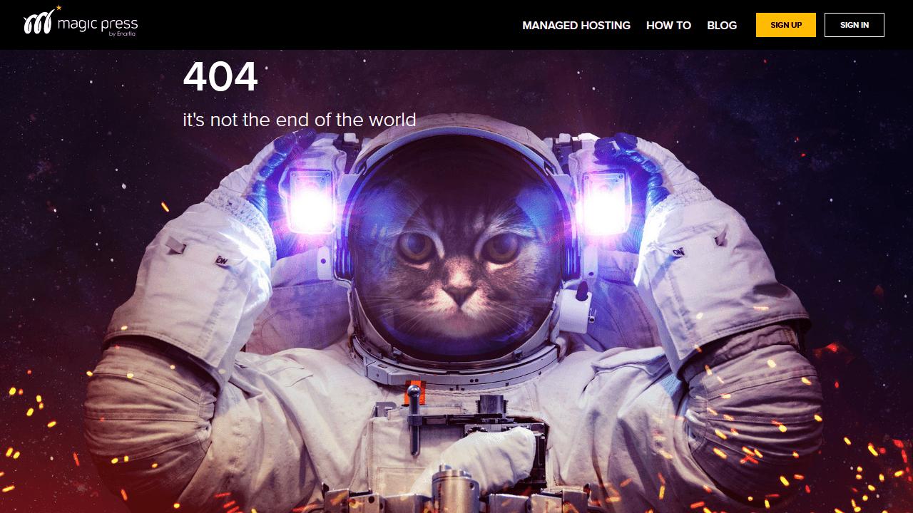 magicpress.net 404 page