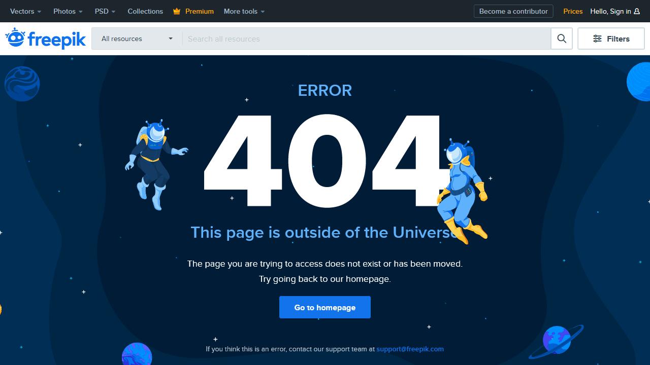 freepik.com 404 page