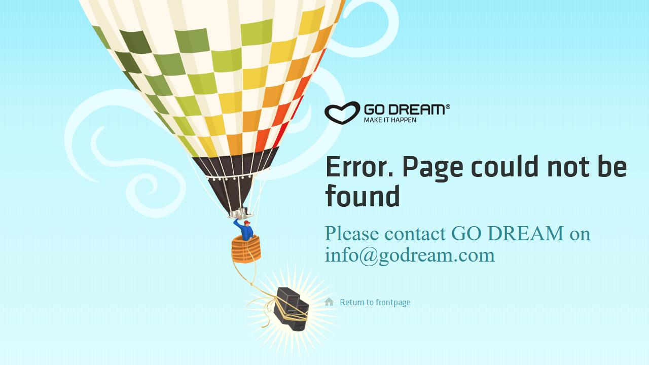 godream.com 404 page