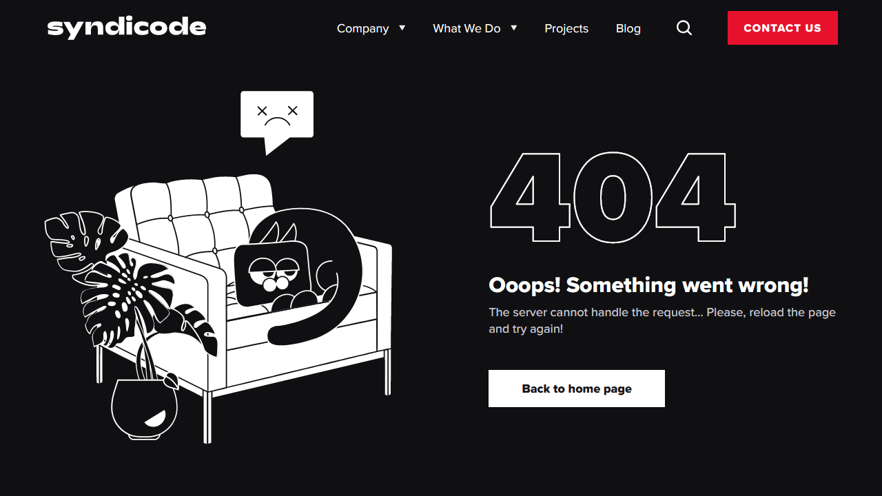 syndicode.com 404 page